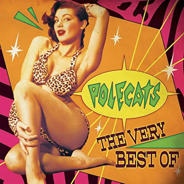 Polecats VERY BEST OF Vinyl Record