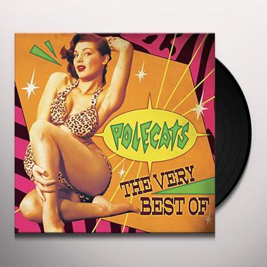 Polecats VERY BEST OF Vinyl Record