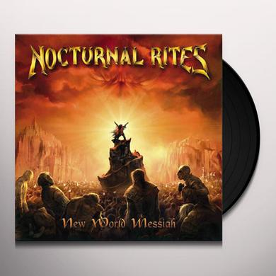 Nocturnal Rites NEW WORLD MESSIAH Vinyl Record