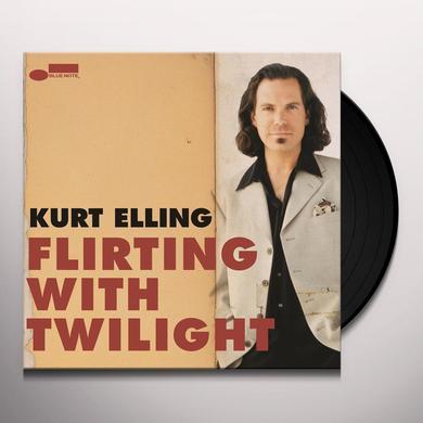 Kurt Elling FLIRTING WITH TWILIGHT Vinyl Record - Reissue
