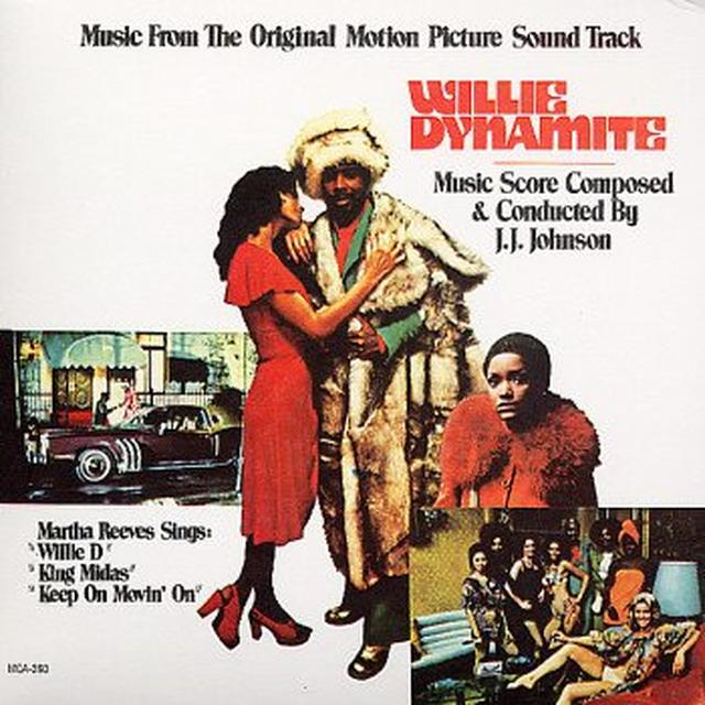 J.J. Johnson WILLIE DYNAMITE Vinyl Record