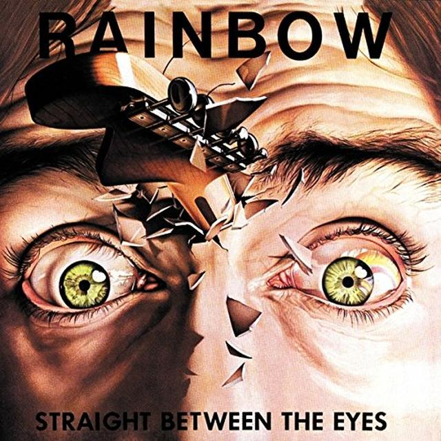 Rainbow STRAIGHT BETWEEN THE EYES Vinyl Record