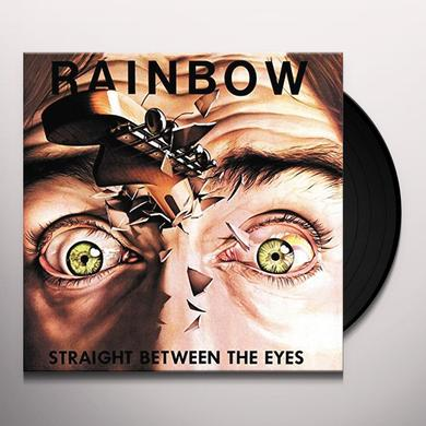 Rainbow STRAIGHT BETWEEN THE EYES Vinyl Record