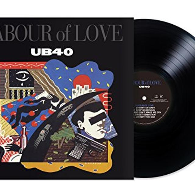 Ub40 LABOUR OF LOVE Vinyl Record - Deluxe Edition