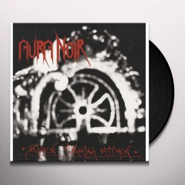 Aura Noir BLACK THRASH ATTACK Vinyl Record