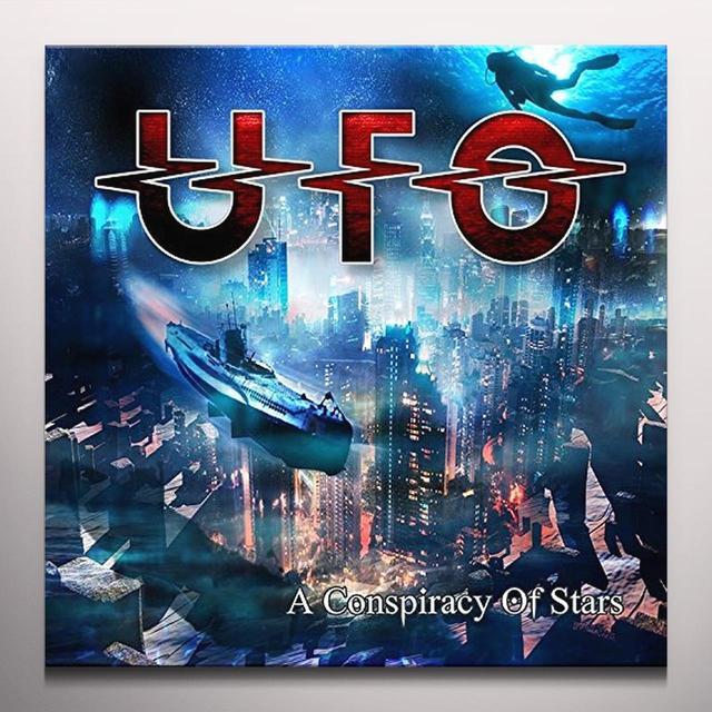 Ufo CONSPIRACY OF STARS Vinyl Record - Colored Vinyl, Gatefold Sleeve