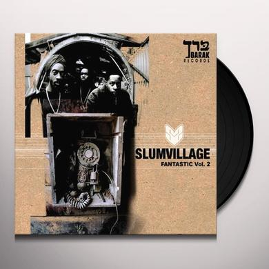 Slum Village FANTASTIC VOL. 2 (WSV) Vinyl Record
