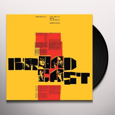 Broadcast NOISE MADE BY PEOPLE Vinyl Record - Gatefold Sleeve