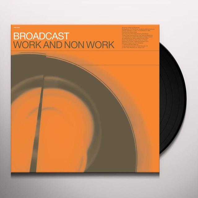 Broadcast WORK & NON-WORK Vinyl Record