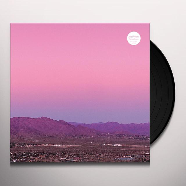 Joris Voorn NOBODY KNOWS Vinyl Record