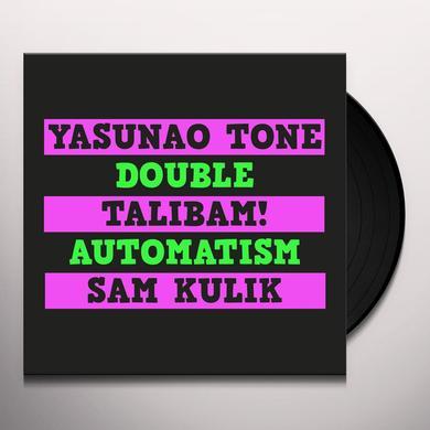 Yasunao Tone / Talibam / Sam Kulik DOUBLE AUTOMATISM Vinyl Record