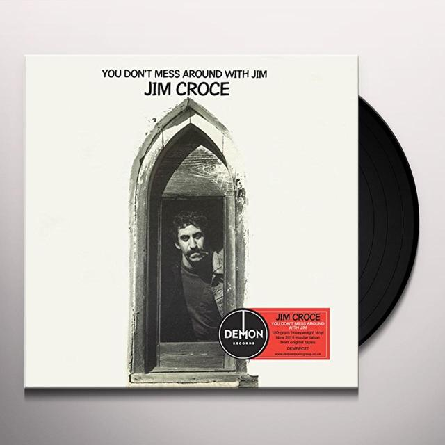 Jim Croce YOU DON'T MESS AROUND WITH JIM Vinyl Record - UK Import