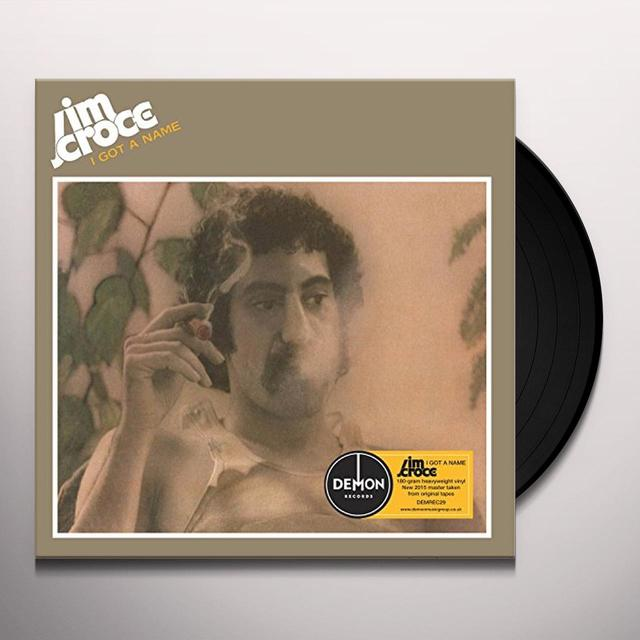 Jim Croce I GOT A NAME Vinyl Record - UK Import