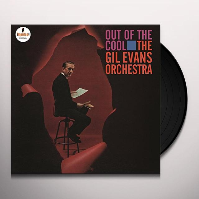 Gil Evans Orchestra OUT OF THE COOL Vinyl Record - Holland Release