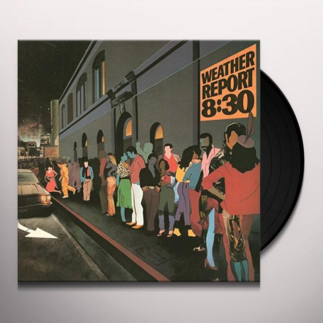 Weather Report 8:30 Vinyl Record - Holland Import