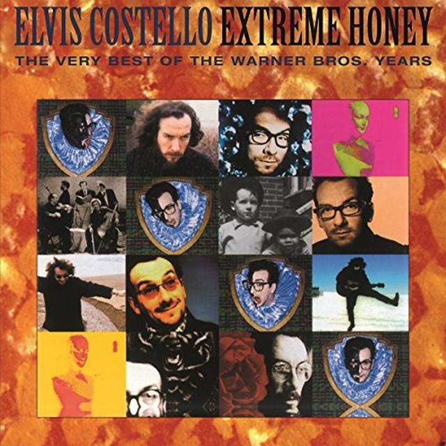 Elvis Costello EXTREME HONEY-THE WARNER BROS YEARS Vinyl Record - Holland Release