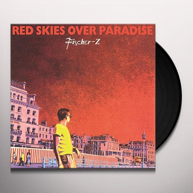 Fischer-Z RED SKIES OVER PARADISE Vinyl Record - Holland Import