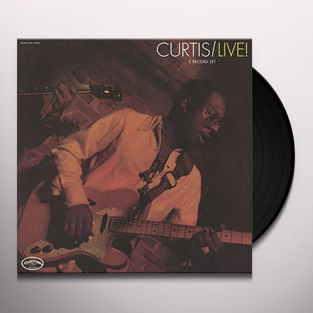 Curtis Mayfield CURTIS / LIVE: EXPANDED Vinyl Record