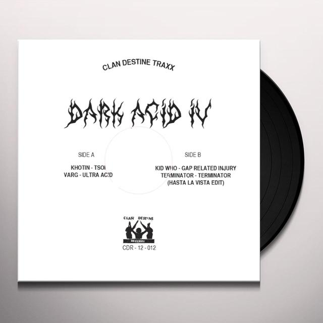 DARK ACID IV / VARIOUS (UK) DARK ACID IV / VARIOUS Vinyl Record