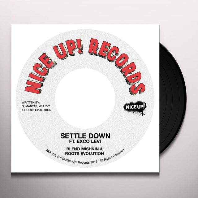 Blend Mishkin SETTLE DOWN Vinyl Record - UK Release
