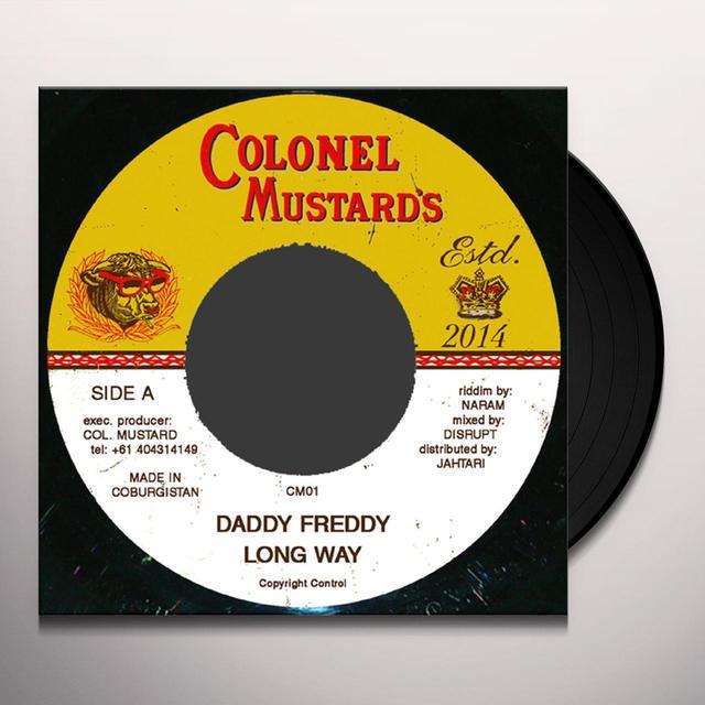 Daddy Freddy LONG WAY Vinyl Record - UK Import