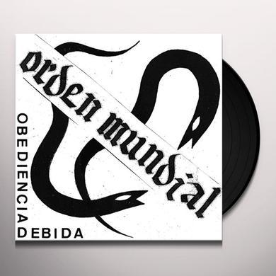 ORDEN MUNDIAL OBEDIENCA DEBIDA Vinyl Record
