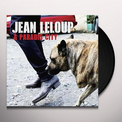 Jean Leloup PARADIS CITY Vinyl Record - Canada Release