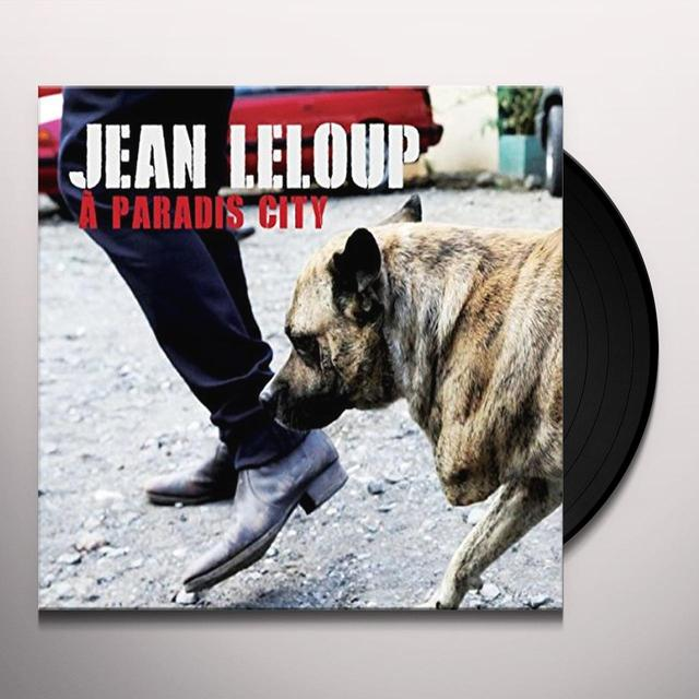 Jean Leloup PARADIS CITY Vinyl Record - Canada Import