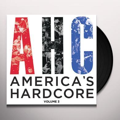 AMERICA'S HARDCORE 3 / VARIOUS Vinyl Record - UK Release