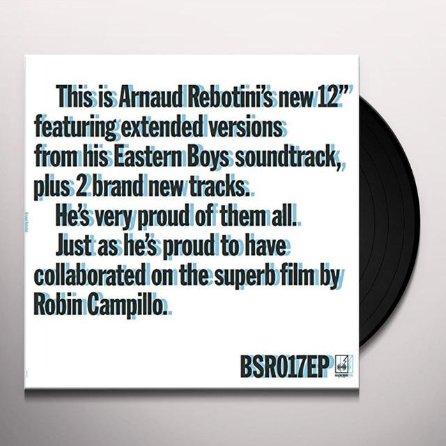 Arnaud Rebotini EASTERN BOYS EXTENDED Vinyl Record