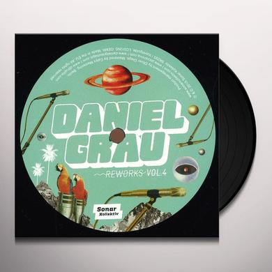 Daniel Grau REWORKS VOL. 4 Vinyl Record - UK Import