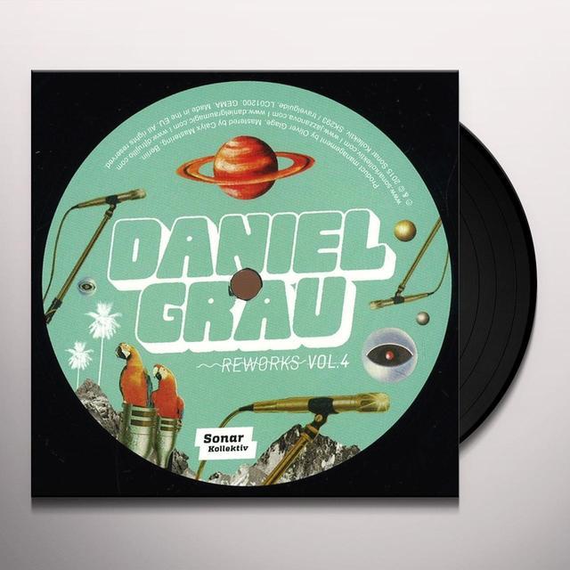Daniel Grau REWORKS VOL. 4 Vinyl Record - UK Import