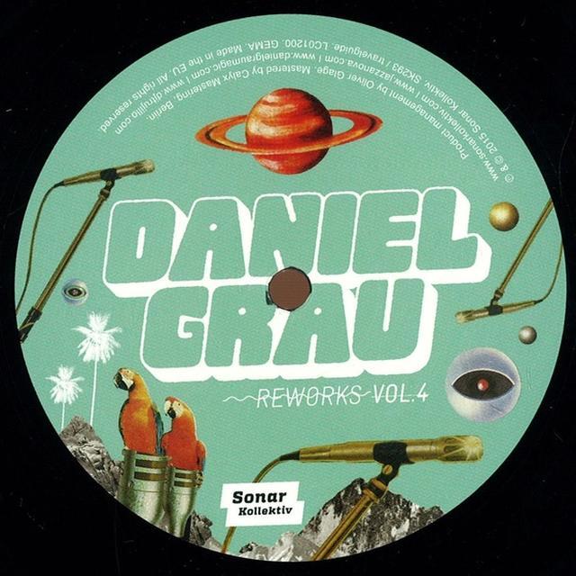 Daniel Grau REWORKS VOL. 4 Vinyl Record