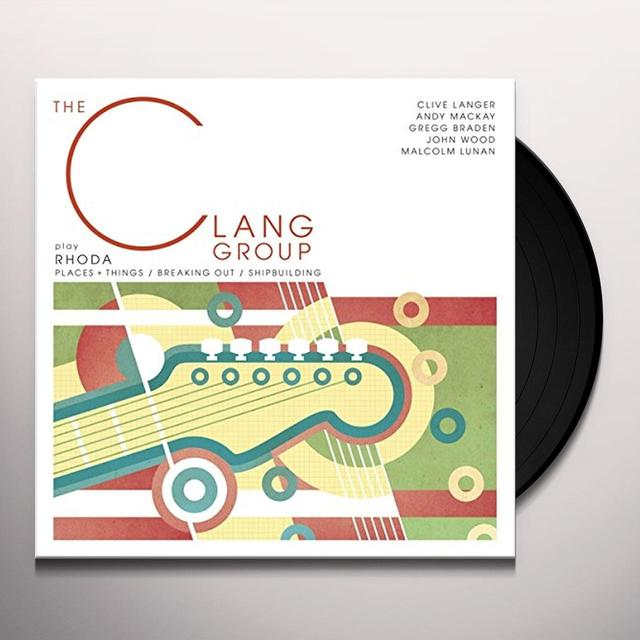 CLANG EP (EP) Vinyl Record - UK Import