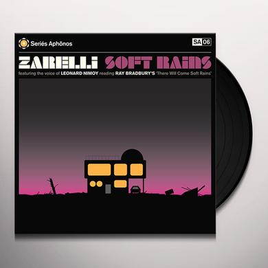 ZARELLI (W/CD) SOFT RAINS / O.S.T. Vinyl Record