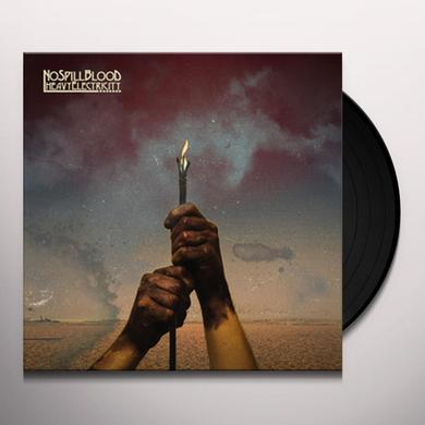 No Spill Blood HEAVY ELECTRICITY Vinyl Record - Digital Download Included