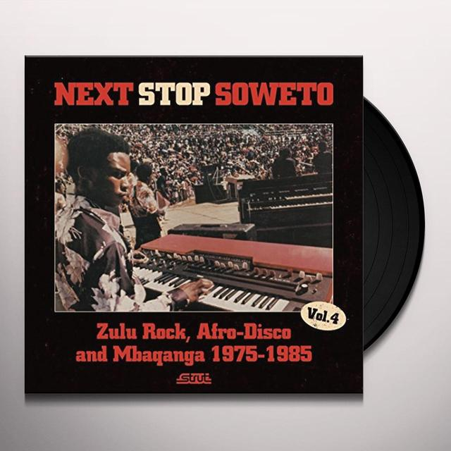 NEXT STOP SOWETO 4 / VARIOUS (GATE) NEXT STOP SOWETO 4 / VARIOUS Vinyl Record - Gatefold Sleeve