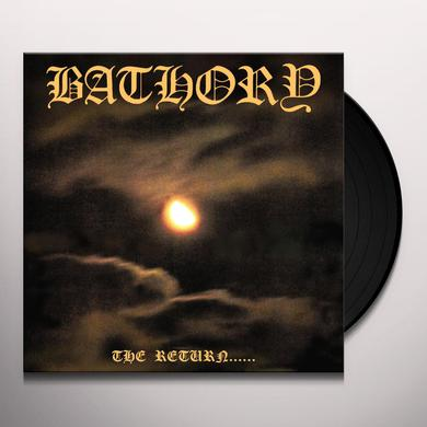 Bathory RETURN OF THE DARKNESS & EVIL Vinyl Record