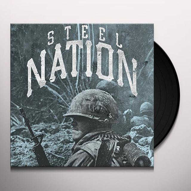 STEEL NATION HARDER THEY FALL Vinyl Record