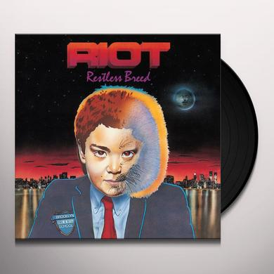 Riot RESTLESS BREED Vinyl Record