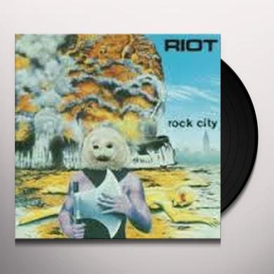Riot ROCK CITY Vinyl Record