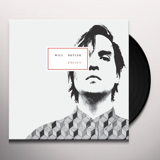 Will Butler POLICY Vinyl Record - Digital Download Included