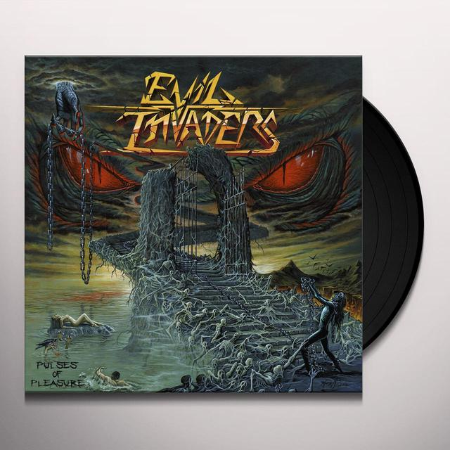 EVIL INVADERS PULSES OF PLEASURE Vinyl Record