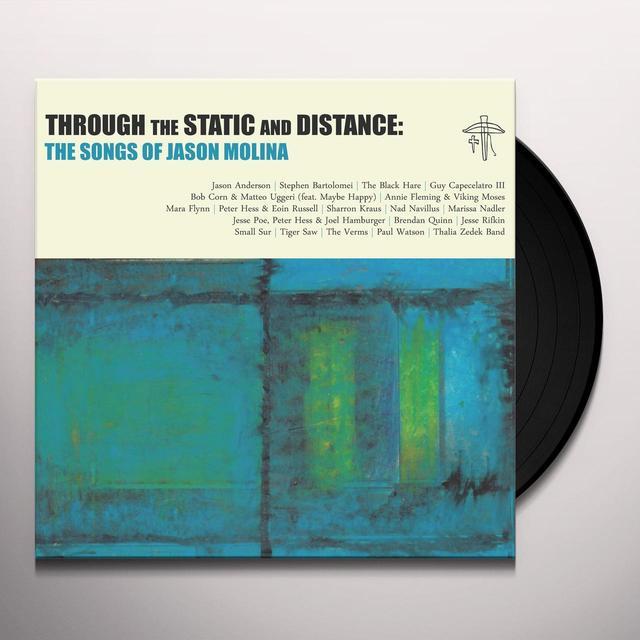 THROUGH THE STATIC & DISTANCE: SONGS OF JASON / VA Vinyl Record