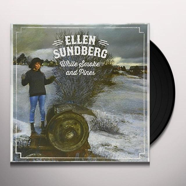 Ellen Sundberg WHITE SMOKE & PINES Vinyl Record - Holland Import