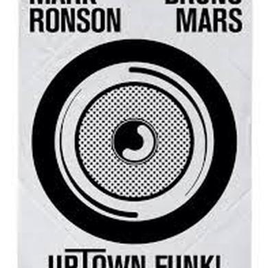 Mark Ronson UPTOWN FUNK Vinyl Record - UK Release