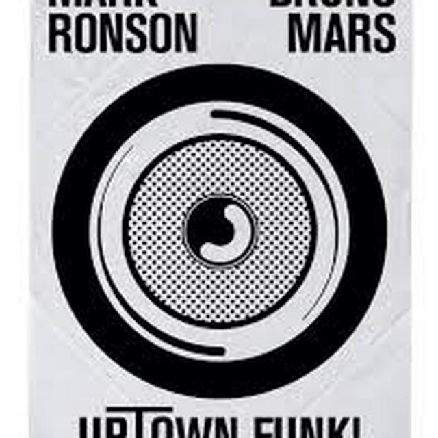 Mark Ronson UPTOWN FUNK Vinyl Record - UK Release