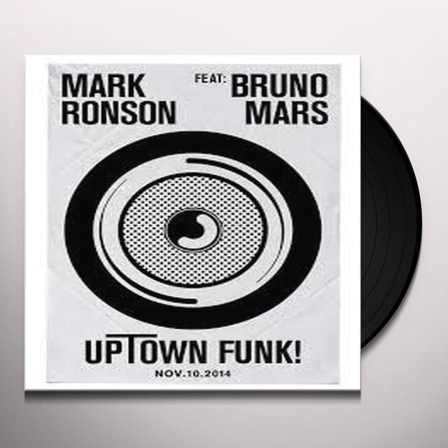 Mark Ronson UPTOWN FUNK Vinyl Record - UK Import