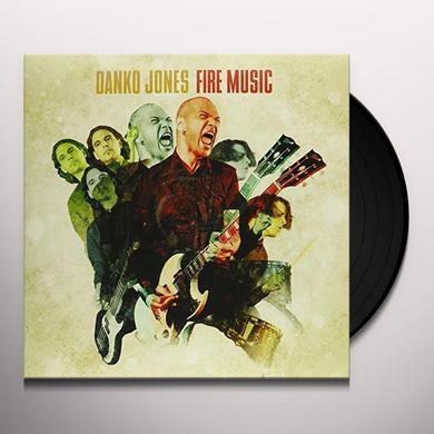 Danko Jones FIRE MUSIC Vinyl Record - Canada Import