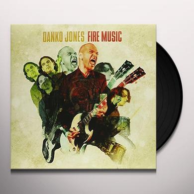 Danko Jones FIRE MUSIC Vinyl Record - Canada Import